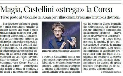 Corriere della sera Brescia – 17.07.2018