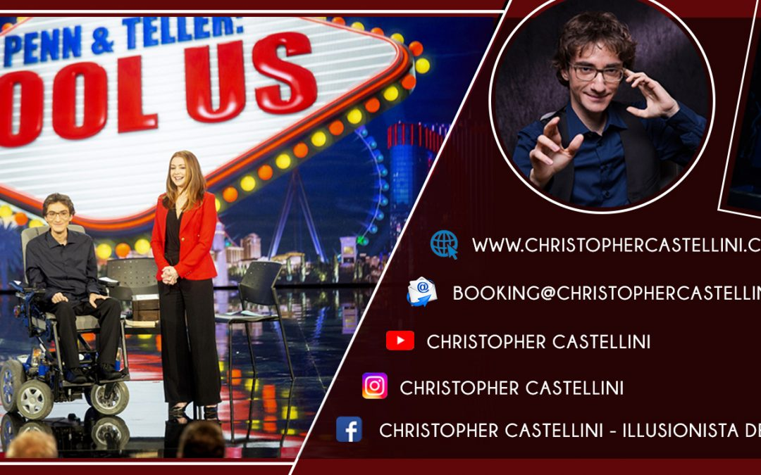 Christopher Castellini – Penn & Teller: Fool Us